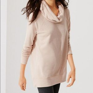Lou & Grey Signature Soft Cowl Tunic Sweater